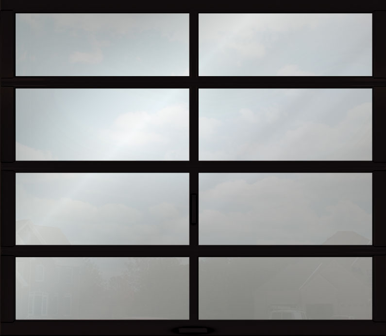 clear anodized aluminum panel