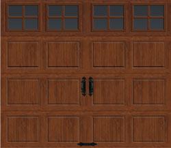 Doors done right garage doors and openers carriage for 11 x 7 garage door