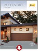 clopay modern steel brochure thumbnail