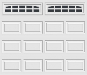short panel garage door with charleston 608 windows