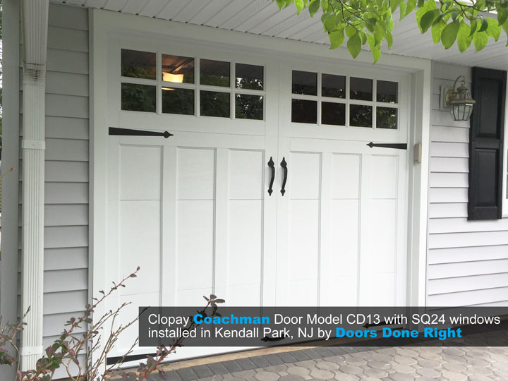 clopay coachman garage door installation in kendall park nj 08824 - Clopay Garage Doors