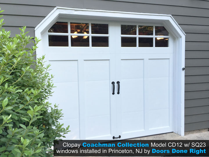 coachman carriage house garage door in princeton