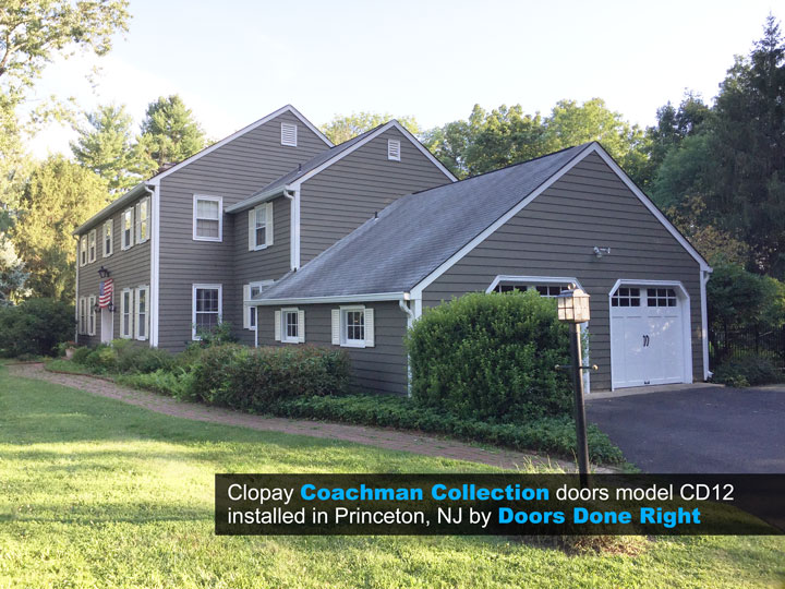 carriage house doors in princeton nj 08540