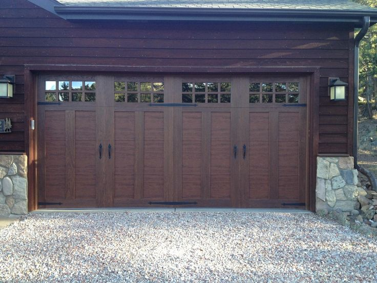 walnut garage doorsDoors Done Right  Garage Doors and Openers  Comparing Woodtone Looks