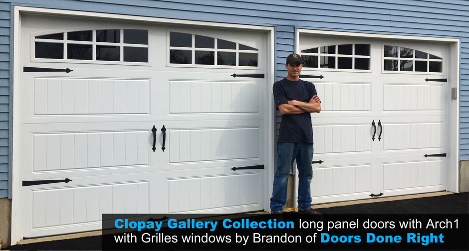 brandon gallery doors from clopay - Clopay Garage Doors