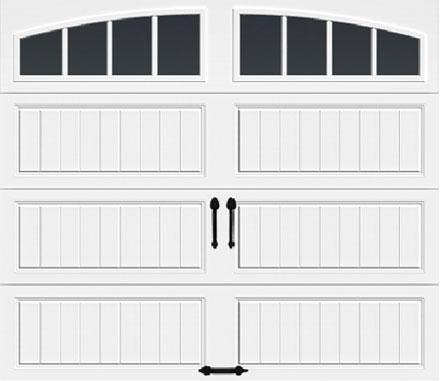 Arch1 w/ Vertical Grilles Windows