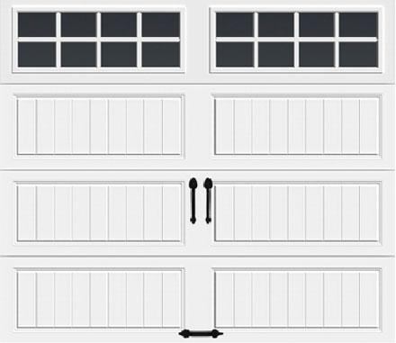 Long w/ Square Grilles Windows