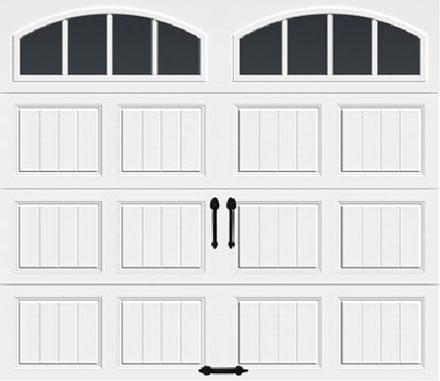 Arch2 w/ Vertical Grilles Windows