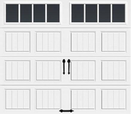 Long w/ Rectangular Grilles Windows