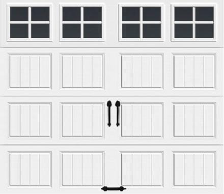 Short w/ Square Grilles Windows