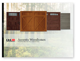 chi accents woodtones button