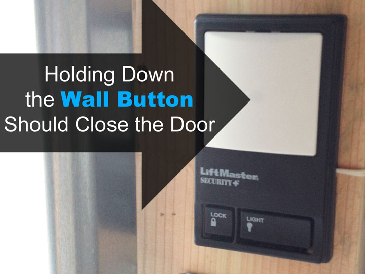 liftmaster wall button
