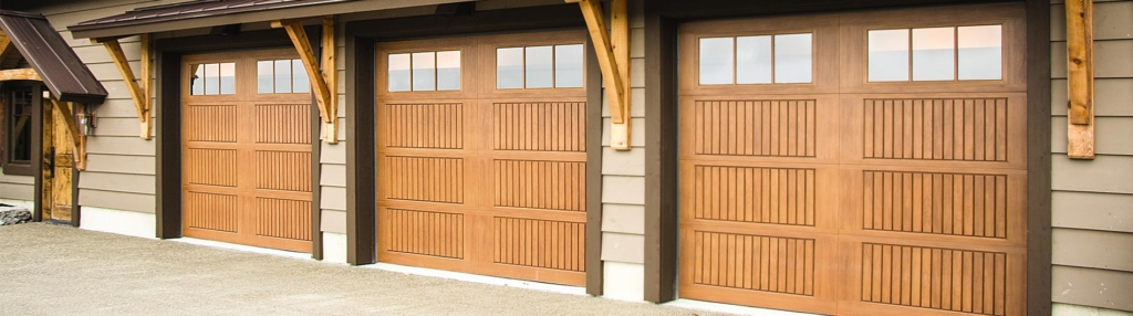 9800 Fiberglass Garage Door 8ft Sonoma Natural Oak 6LiteSquare