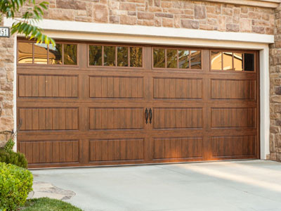 clopay model gd1lp garage door walnut finish gallery collection