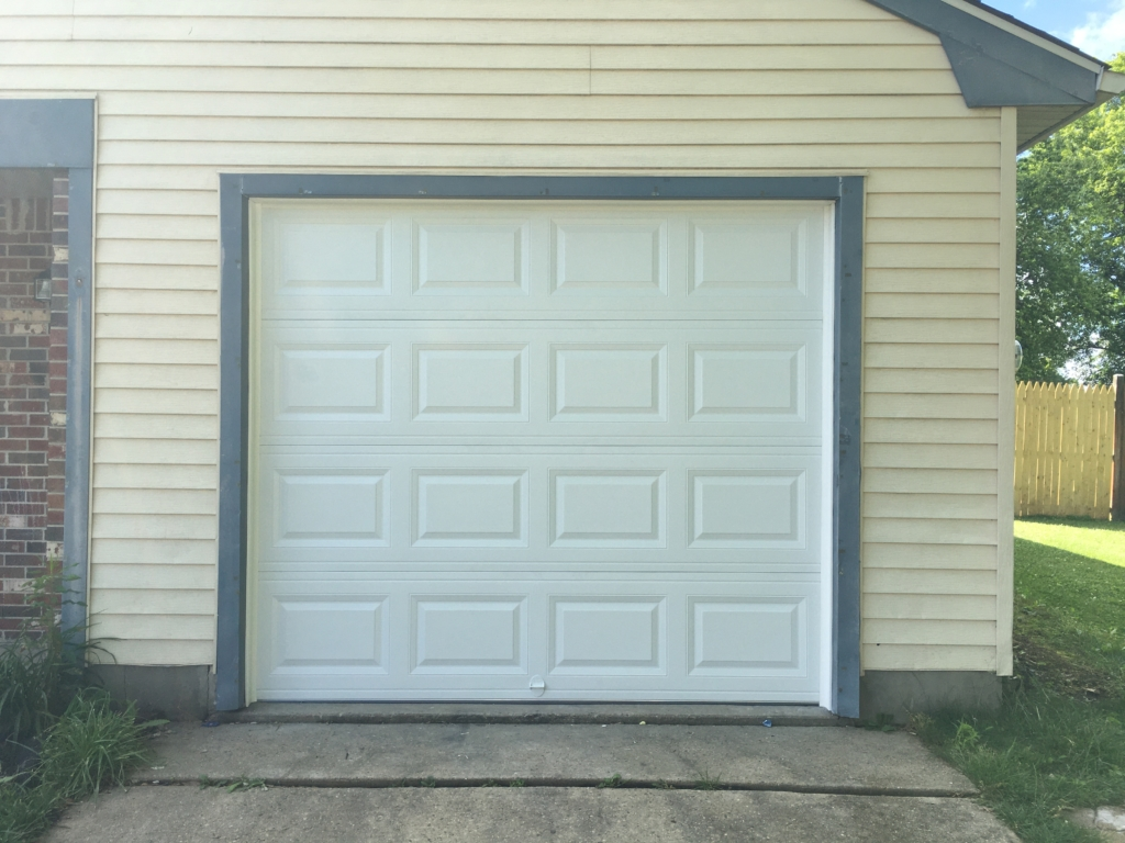 chi model 2250 garage door front view