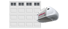 single-wide door with liftmaster model 8365w opener