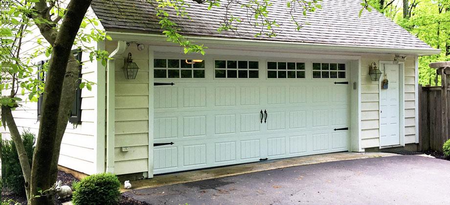 clopay gallery collection garage door in princeton nj